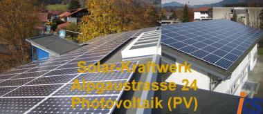 Solar-Kraftwerk Alpgaustr. 24